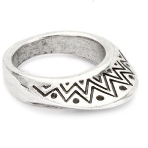 House of Harlow 1960 Jewelry - 🆕 Authentic House of Harlow Silver Plated Ring 7