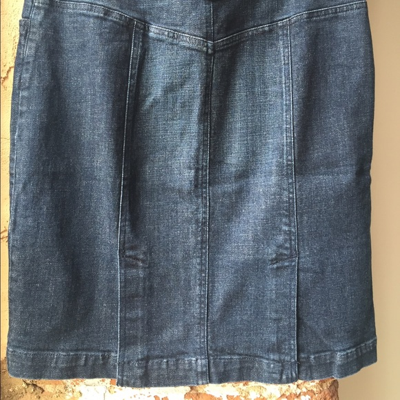 j crew j crew denim pencil skirt from chelsey s closet