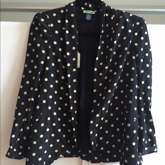 Free Hug Jackets & Coats - Polka dot blazer