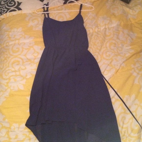 forever 21 blue high low dress from erickas closet on