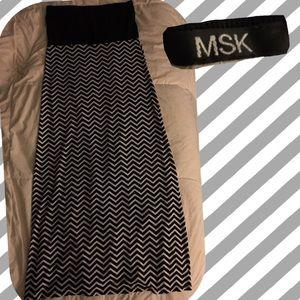 Brand new MSK Tube fitted Maxi skirt / dress