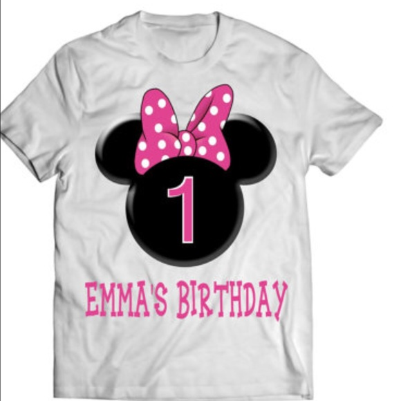 enjoy cheap price hot products well known Mickey/Minnie custom made tees