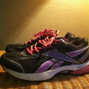 Reebok Shoes - Pink and black running sneakers Reebok