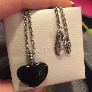 9ef856b298f84 reduced pandora mi amor necklace price match d091b eb6e8