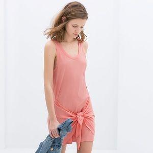 Zara Dresses & Skirts - Zara Dress with Knot Detail