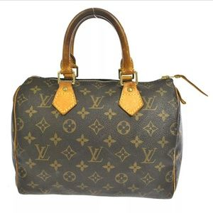extra pics Auth Louis Vuitton Speedy 25 bag
