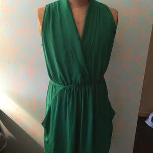 Collective Concepts Tie Waist Sleeveless Dress