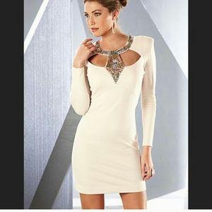 Venus embellished dress