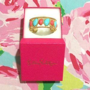 BNIB Lilly Pulitzer Gold Cuff Bracelet ✨