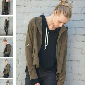 Brandy Melville Hailey Green Jacket