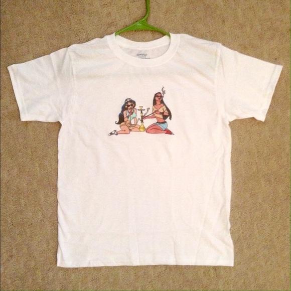 Tops Princess Hookah Tshirt Poshmark