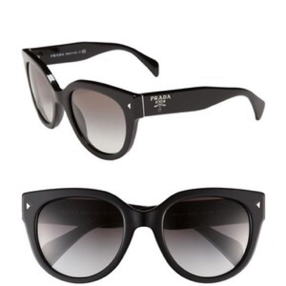 Prada Accessories | 54 Mm Designer Cat Eye Sunglasses | Poshmark