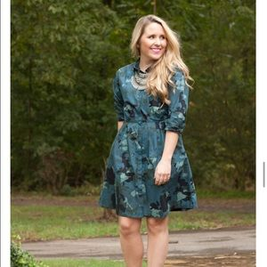 Gap camo shirtdress
