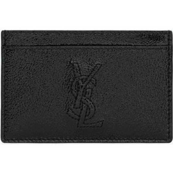 bfff81f1d7458 YSL Yves Saint Laurent Card Case