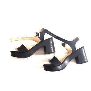 578b0598bb7 American Apparel Shoes - Wooden Sandal Heel - Size 7 American Apparel