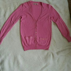 Pink Old Navy Cardigan with sequin pockets