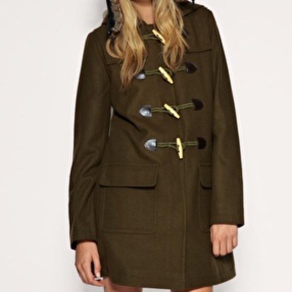 6c302a4d030 ASOS Jackets   Coats   Curve Duffle Coat In Khaki Army Green   Poshmark