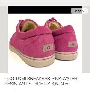ugg sneakers pink
