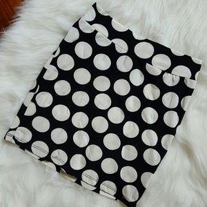 Dresses & Skirts - Polka dot bodycon skirt