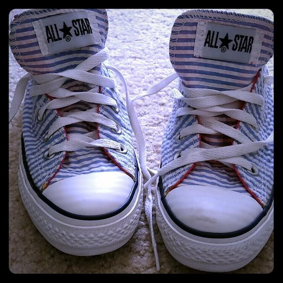 a69068b44edb Converse Shoes - Seersucker CONVERSE All Star s!