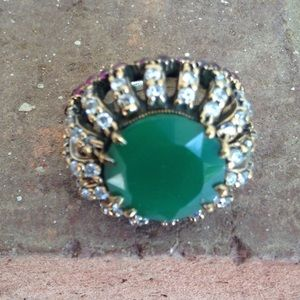 HANDCRAFTED HIGH Quality EMERALD RUBY AND TOPAZ