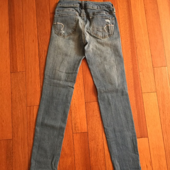 Model Womens Super Stretch Jeans  American Eagle Outfitters