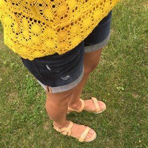 Zara flatform sandal