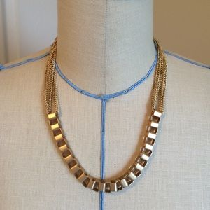 Jewelry - Multi-strand square link necklace
