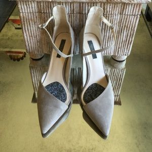 Zara Grey Heels