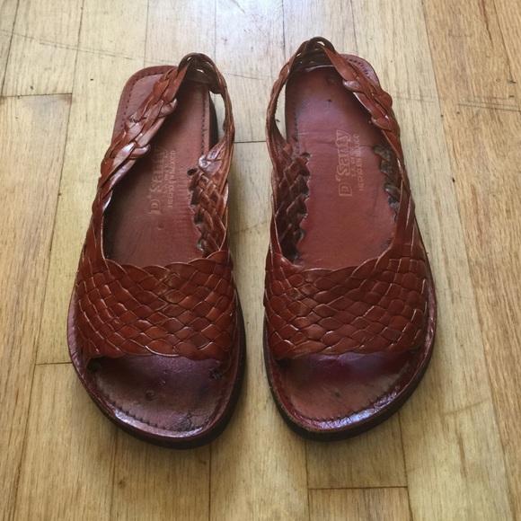 5413ef19e429 D Santy Shoes - Vintage D  Santy Huarache Sandals