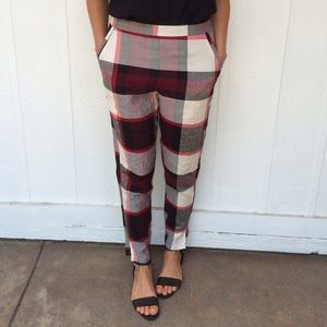 NEW Plaid pants