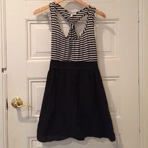 Delia's racerback striped dress