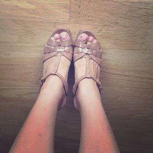 Yves Saint Laurent Shoes - YSL tribute patent leather sandals
