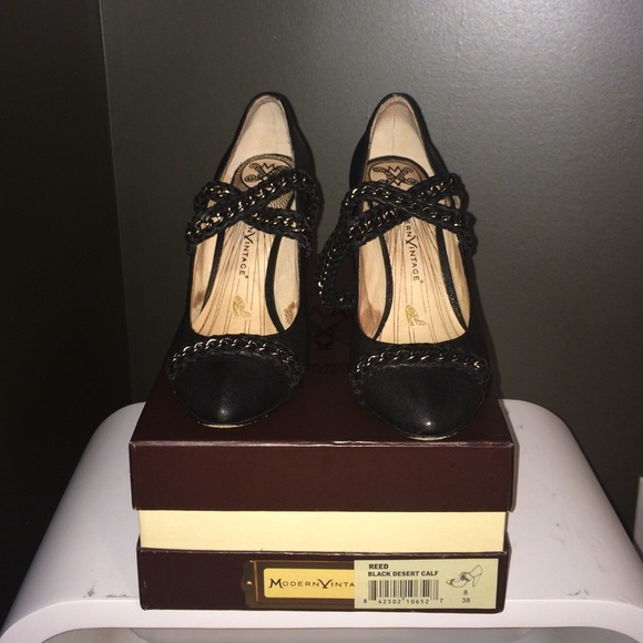 Reed Black Shoes Matte