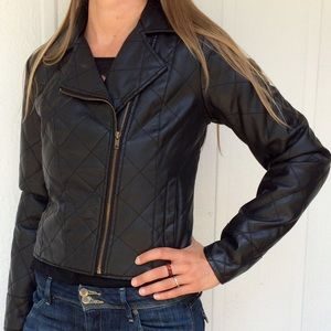 NEW vegan leather jacket
