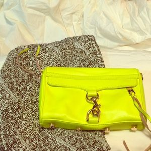 Rebecca Minkoff Handbags - Rebecca Minkoff Neon Mini MAC- final reduction