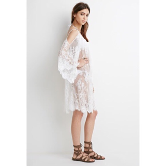 Open Shoulder Dress Forever 21 Forever 21 | Nwt Lace Open