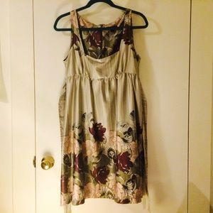 FINAL SALE Empire waist flower garden dress