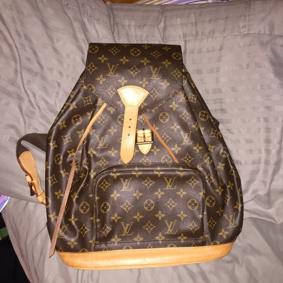 a2a3ee2663b2 Louis Vuitton Handbags - Louis Vuitton Montsouris GM Monogram Backpack