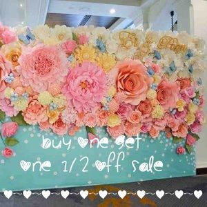 Buy one get one 1/2 off sale until August 15,2015