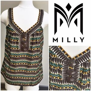 Milly Tops - Like NEW Milly Silk Tank! Sz L!