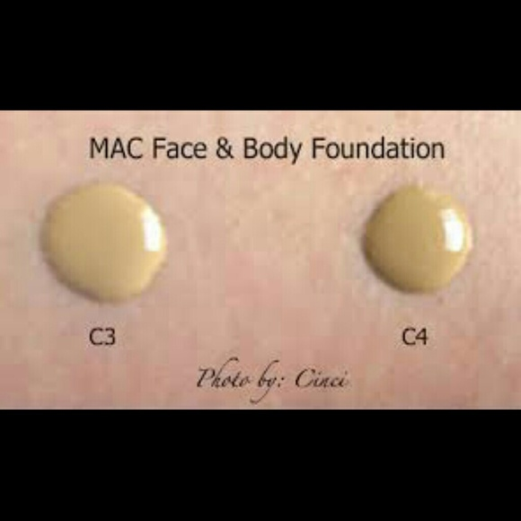 71 Off Mac Cosmetics Accessories Mac Face And Body Foundation C3 From Cynthia S Closet On