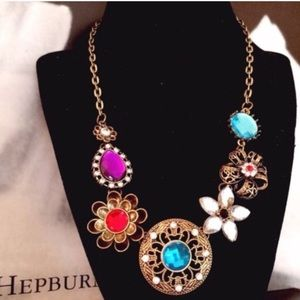 What a Gem Statement Necklace