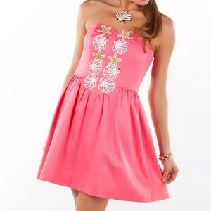 Lilly Pulitzer Mayfield pink salmon seeing stars