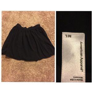American Apparel Dresses & Skirts - American Apparel Black Skirt