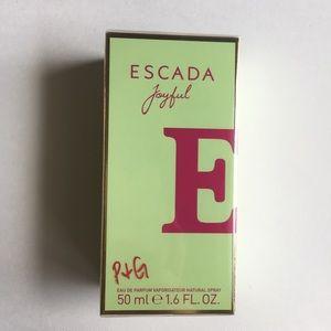Escada Joyful Eau de par (full size & New in box)