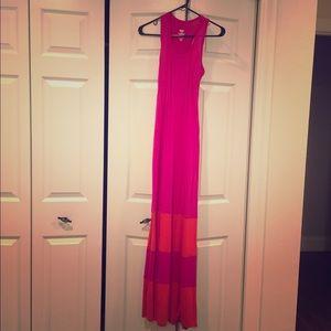 Mossimo colorblock maxi dress