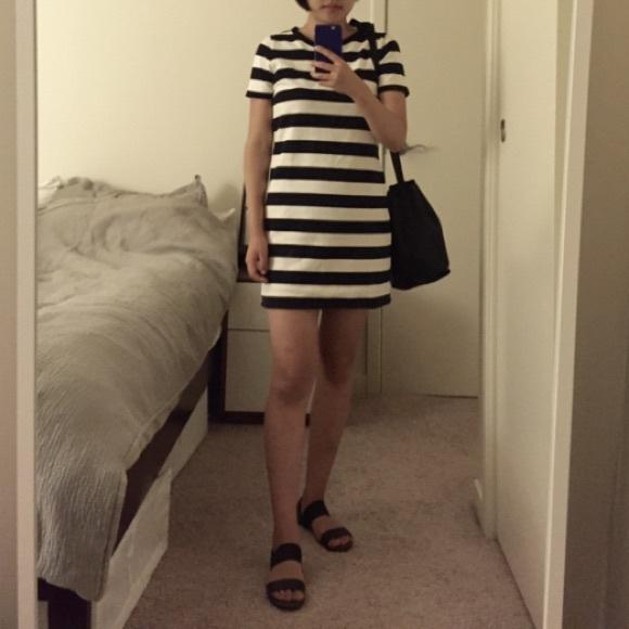 2a4d850356a J. Crew Dresses   Skirts - J. Crew striped t-shirt dress