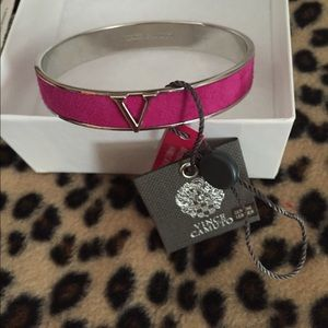 Vince Camuto Jewelry - Vince Camuto NWT Suede Signature Bracelet Nice
