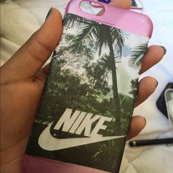 official photos 4e72a 5c8e4 Pink/ tropical Nike diy iPhone 6 case
